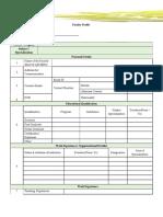 Texila American University Application Form,