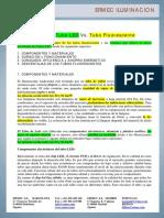 Tubos Led Versus Fluorescentes