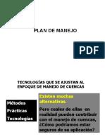 Plan de Manejo Microcuenca