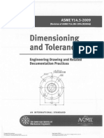Asme y14,5 2009 Dimensioning and Tolerancing Engineering Drawing and Related Documentation Practices