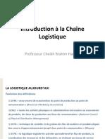 Introduction a La Chaine Logistique
