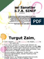 görsel sanatlar Turgut Zaim.ppt