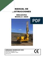 Manual Ai830 HINCADORA