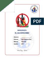 El Alcoholismo Monografia