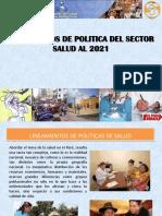 POLITICAS DE SALUD