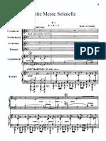 Rossini Petite Messe Solennelle Vocal Scores Latin