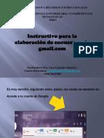 Instructivo Encuestas via Gmail