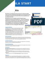 BLA bokförings- och faktureringsprogram produktfakta