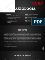La Axiología
