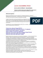 La Famosa Válvula Iac y Sus Nombres Típicos-2009