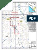 PEA-02 a Plano de Concesiones Minera y Área Efectiva EMADSUR-MS-UPC-01