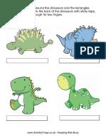 Dinosaur Finger Puppets 2