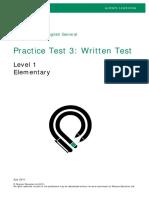 PTEG Written PracticeTest3 L1
