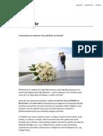 Casamento No Exterior Tem Validade No Brasil