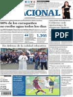 Edición de El Nacional del 21 de noviembre de 2018