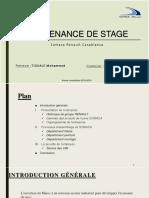 Soutnance de Stage FINAL renault