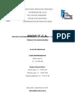 Estructura Proyecto de Emprendimineto 2016