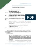 Informe Nº 002 Paralizacion