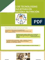 DISEÑO DE TECNOLOGÍA EDUCATIVA EN ALIMENTACION Y NUTRICIÓN..pptx