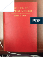 The Life of Cardinal Mercier - John a. Gade