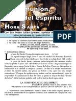 La Comunión, Gozo de Los Elegidos (55) Hora Santa Con San Pedro Julián Eymard