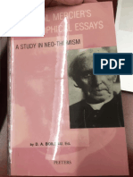 Philosophical Essays - A Study in Neo-Thomism