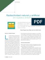 Radiactividad Natural y Artificial