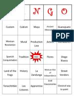 ss activity guide bingo acitivty