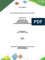 Fase 2 - Analizar El Contexto Ético-político Global