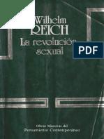 Reich Wilhelm La Revolucion Sexual