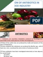 Antibiotics In Food Preservation