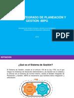 Presentación MIPG Para ProcesosG 29