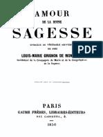 S. Luis de Montfort - Amour_de_la_divine_Sagesse
