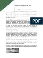Antecedentes Historicos Del Pan