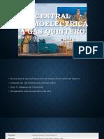 Central Térmoelectrica a Gas Quintero