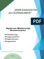 Makrong Kasanayan