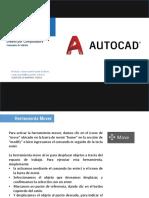 Comandos de Edición AutoCAD