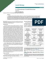 Postnatal Complications of Intrauterine Growth Restriction