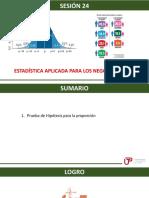 P_sem12_ses24_Prueba de Hipótesis Para La Proporción