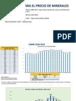 Supuestos Economicos - PRESUPUESTO 2019