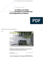 Muerde Un Dedo y Una Oreja y Manda Al Hospital a Un Hombre Que Le Miró Fijamente en Valencia _ Las Provincias