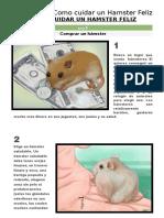 Como Cuidar a Un Hamster Feliz