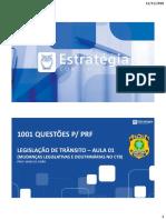 1. 1001 Questões PRF TRânsito Parte I 12 11 I (1)
