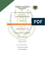 Consulta - Klever Calvache -Unidades Giratorias en La Maquinaria Pesada
