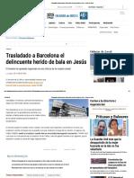 Trasladado a Barcelona El Delincuente Herido de Bala en Jesús - Diario de Ibiza