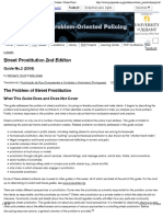 Center for Problem-Oriented Policing | Problem Guides | Street Prostitution 2nd. Ed.
