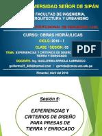 CLASE 6.Consideraciones de Diseño en Presas Homogeneas.partE III
