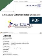 Amenazas y Vulnerabilidades emergentes