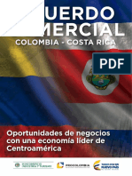 2016 Acuerdo Comercial Costa Rica