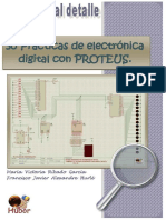 30 Prácticas de Electrónica Digital Con PROTEUS